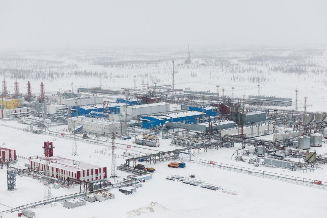 Заполярное нефтегазоконденсатное  месторождение