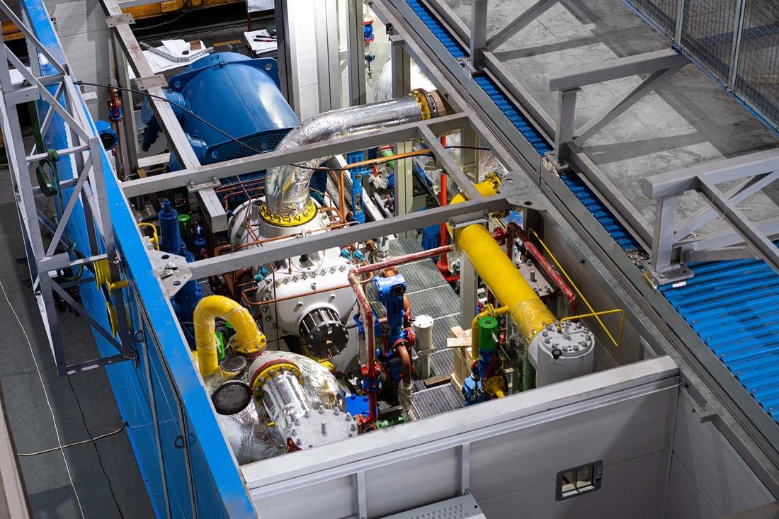 Модульная компрессорная установка