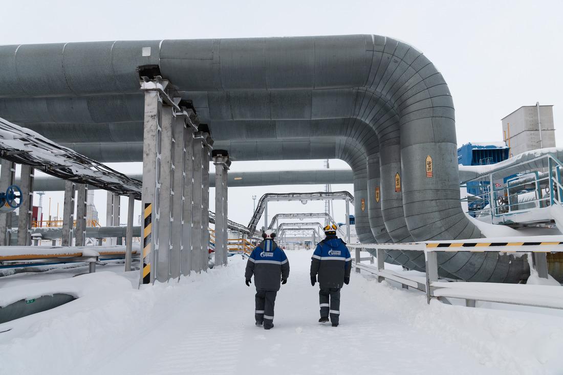 Установка комплексной подготовки газа-5 Ямбургского месторождения