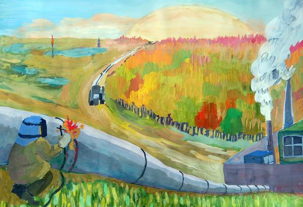 Газпром конкурс природа и мы